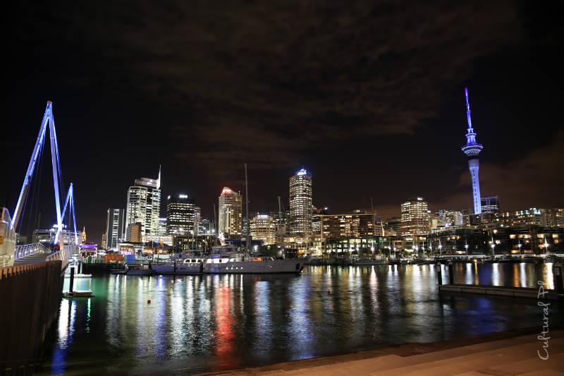 vistas Auckland desde puerto