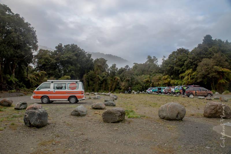 camping franz joseph