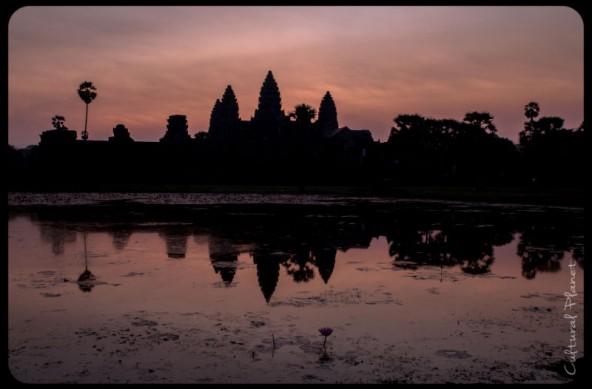 La belleza del Angkor y la realidad humana