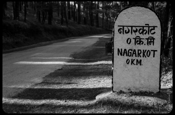 Nagarkot y la cordillera del Himalaya