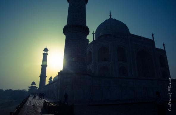 Taj Mahal y Holi en Agra