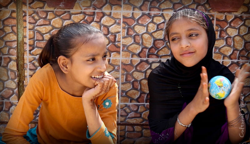 Shalu y Sona, Agra, India