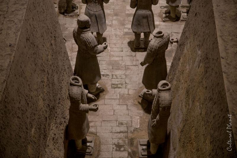 Guerreros de Xi'an Xian