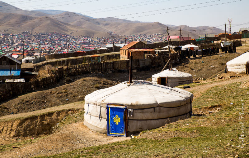 yurta ger mongolia